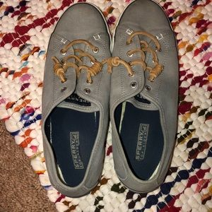 Grey Sperry Slides